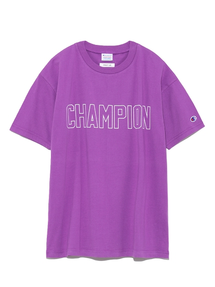【FRAY I.D×Champion】ロゴTシャツ(PPL-F)