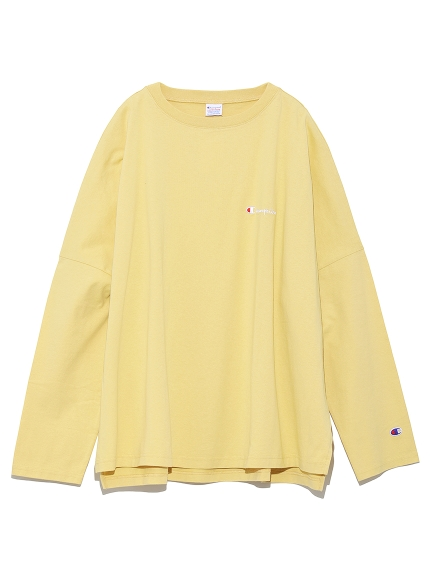 【FRAY I.D×Champion】バックプリントロングTシャツ
