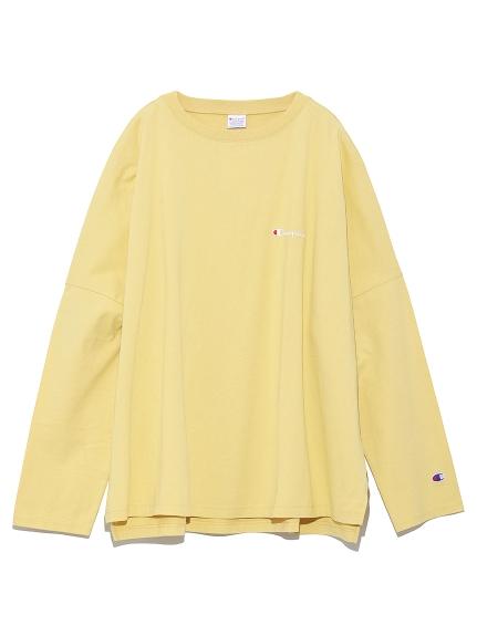 【FRAY I.D×Champion】バックプリントロングTシャツ(BEG-F)