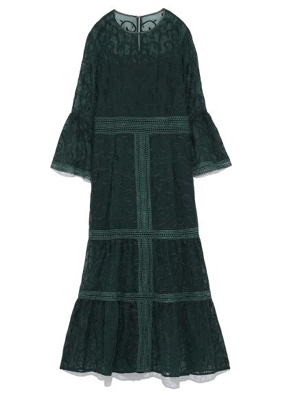 オーナメント刺繍ドレス